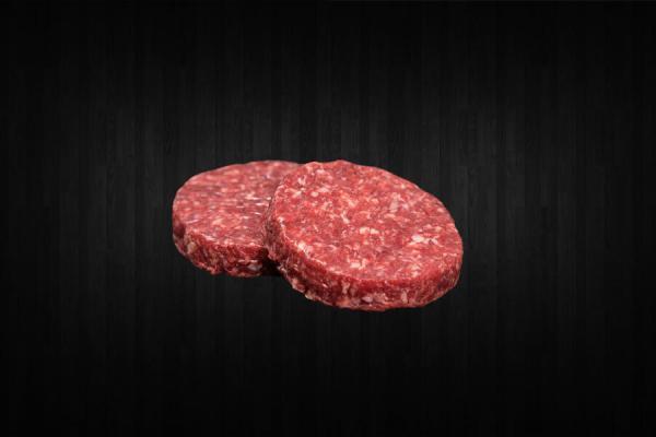 hamburguesa de vaca 200 gramos unidad